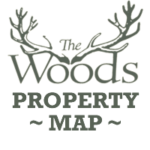 the woods property map button