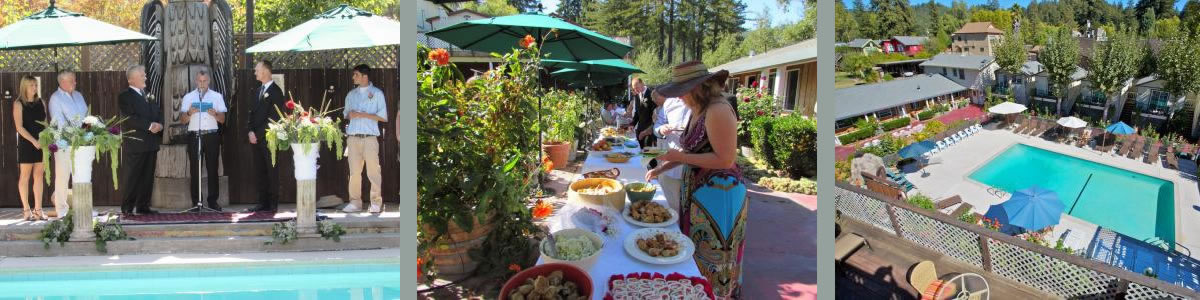 events at the woods cottages & cabins at the russian river in guerneville